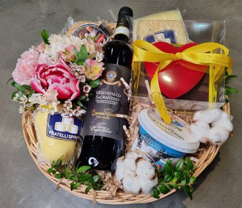 Подарочный набор №11 - Fratelli Spirini - производство сыров в Екатеринбурге