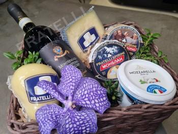 Подарочный набор №6 - Fratelli Spirini - производство сыров в Екатеринбурге